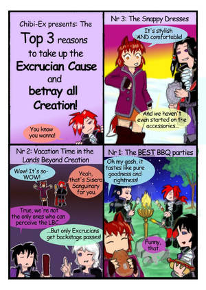 Guest Strip: Top Three Reasons to Betray Creation