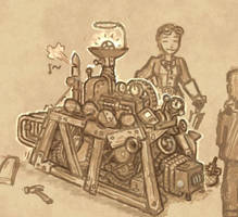 Sketch - Chuubo's Marvelous Wish-Granting Engine
