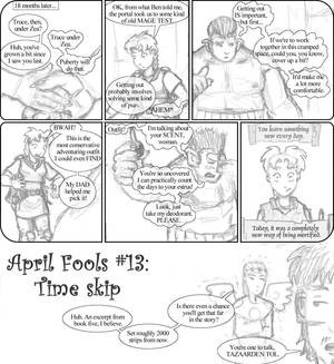 April Fools #13: Time skip