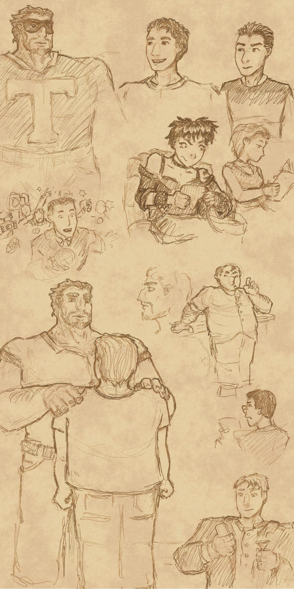 Fanart: Titan, from Drew Hayes' Corpies by Elyandarin