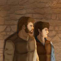 Roran and Eragon by sbrigs