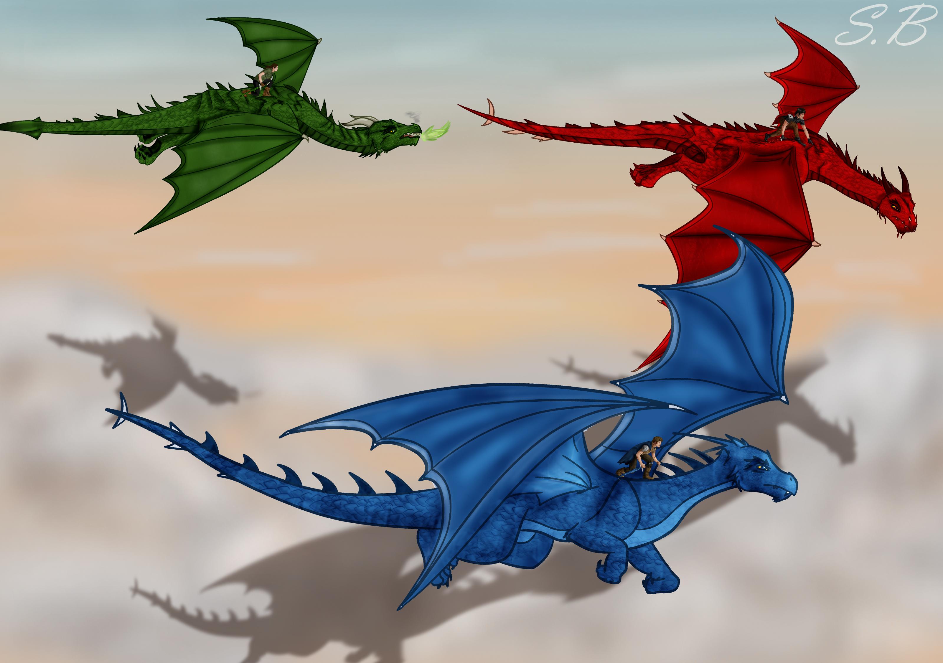 The Time of the Dragon... Eragon And Arya Drawings