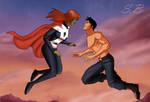 Superboy and M'Gann