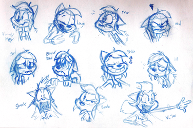 Sarah Expressions - 090413 by Atrox-C