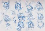 Celie Sketches 090514