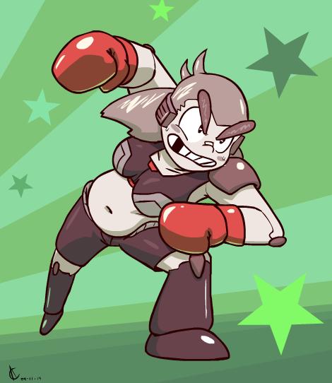Roxie the Sockin' Robot by Atrox-C