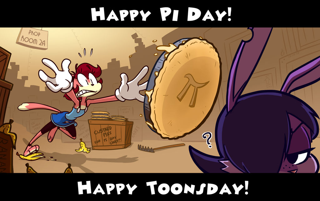 Pi Day x Toonsday