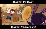 Pi Day x Toonsday by Atrox-C