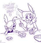 COMM - Two Rabbits Walk into a Bar