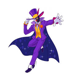 Mysterious Masked Magician