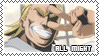 All Might Stamp