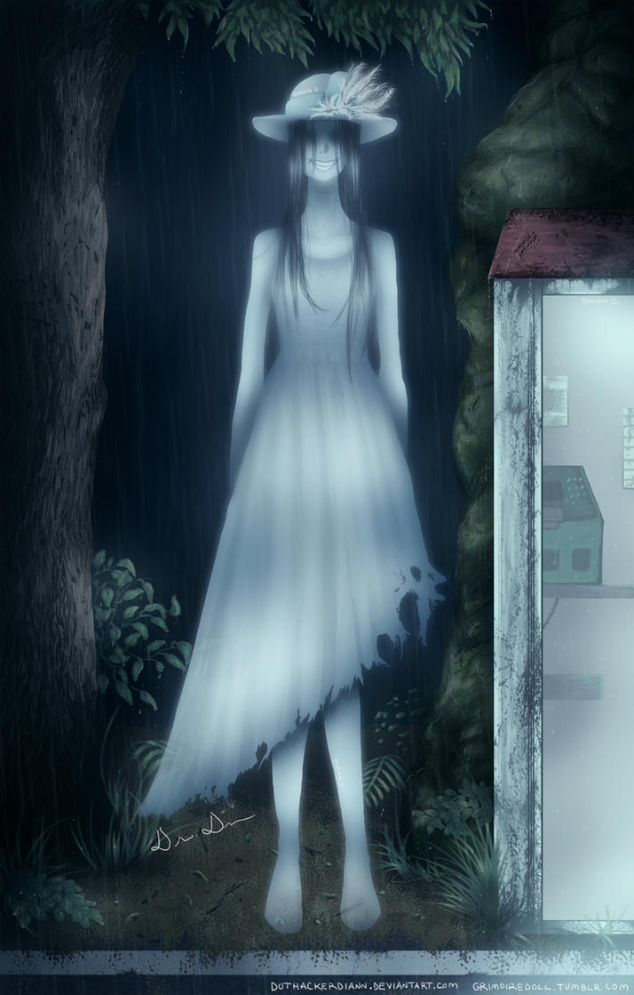 fatal frame maiden of black water tall woman by dothackerdiann on