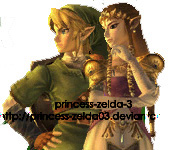 Zelda and Link by princess-zelda-3