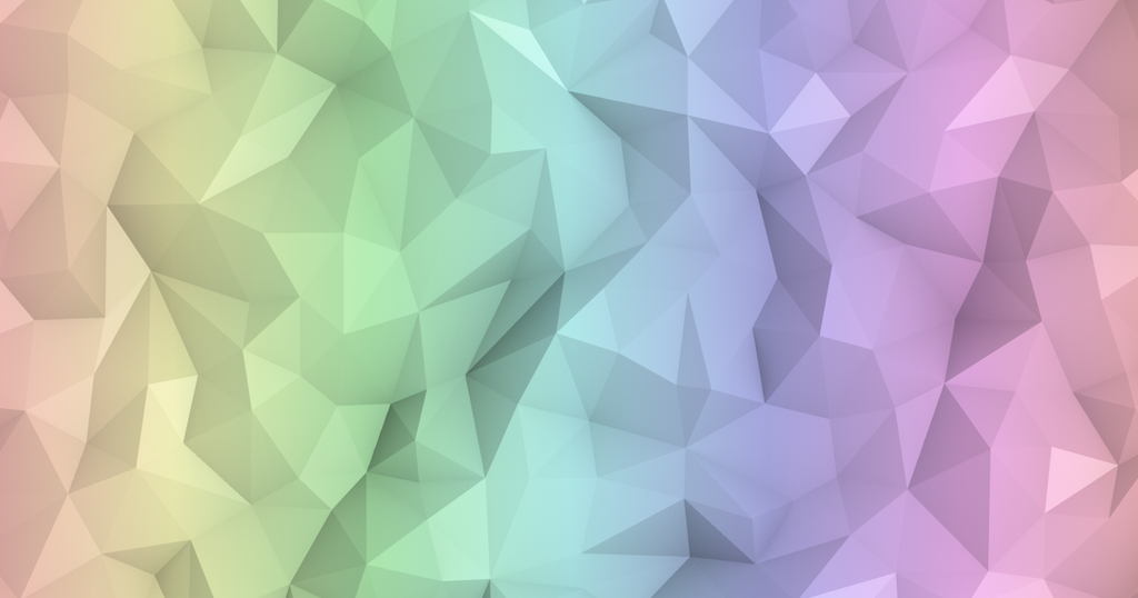 Rainbow Low Poly Background By Cylyc