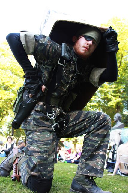 Metal Gear Solid 3 Big Boss by TonySpawn