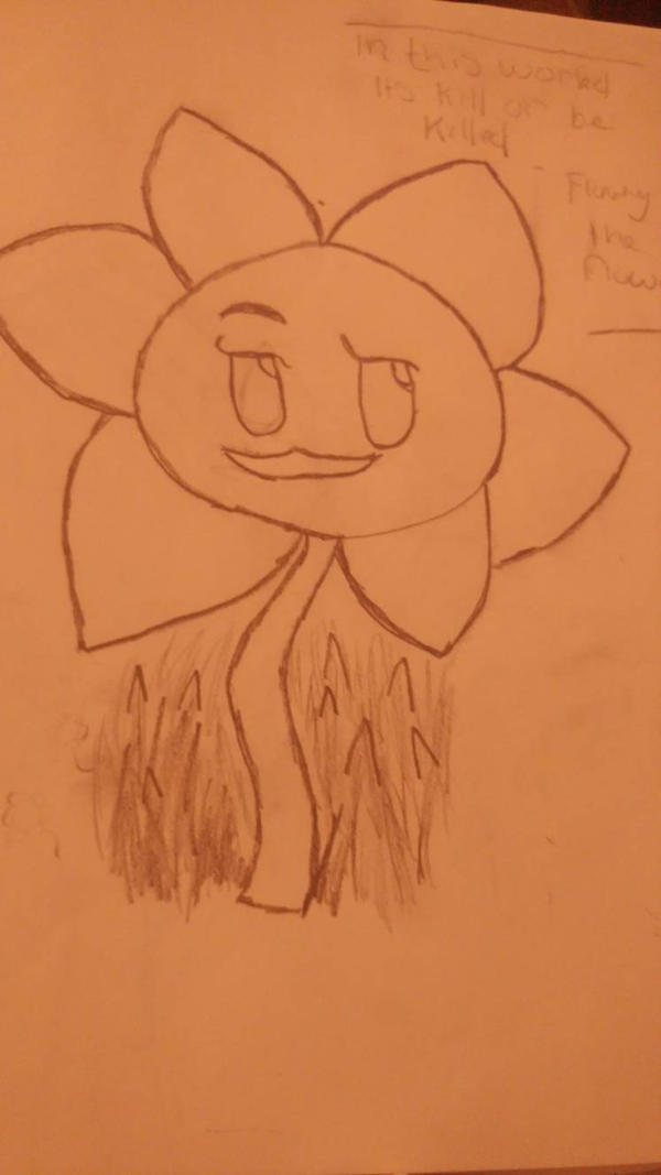 flowey the flower by foxysfirstmate1987