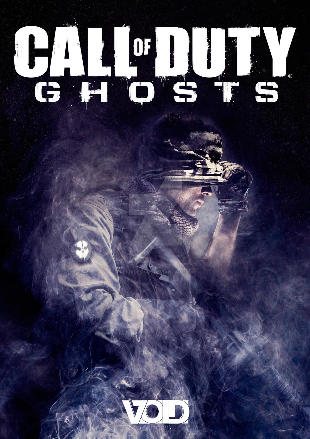 Call Of Duty Ghosts Poster Artwork By Voidxdesigns On Deviantart