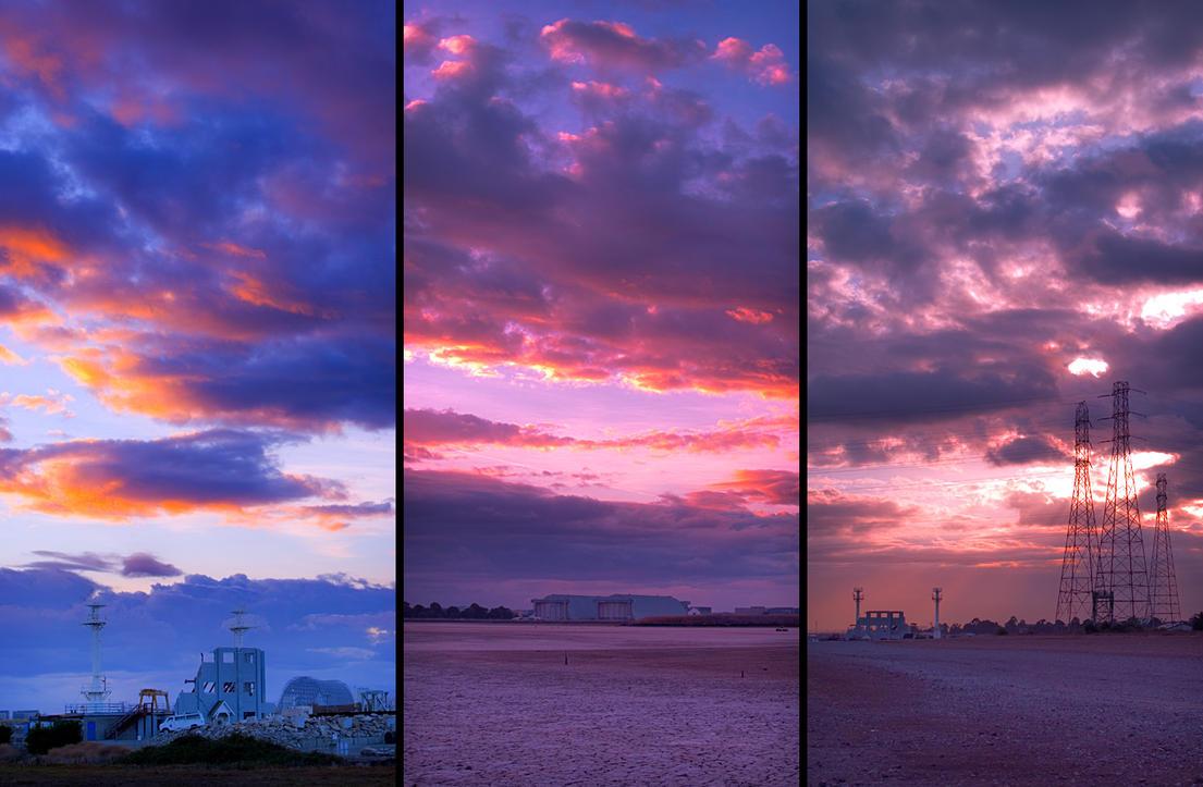 Sunrise Triptych by BobContrast