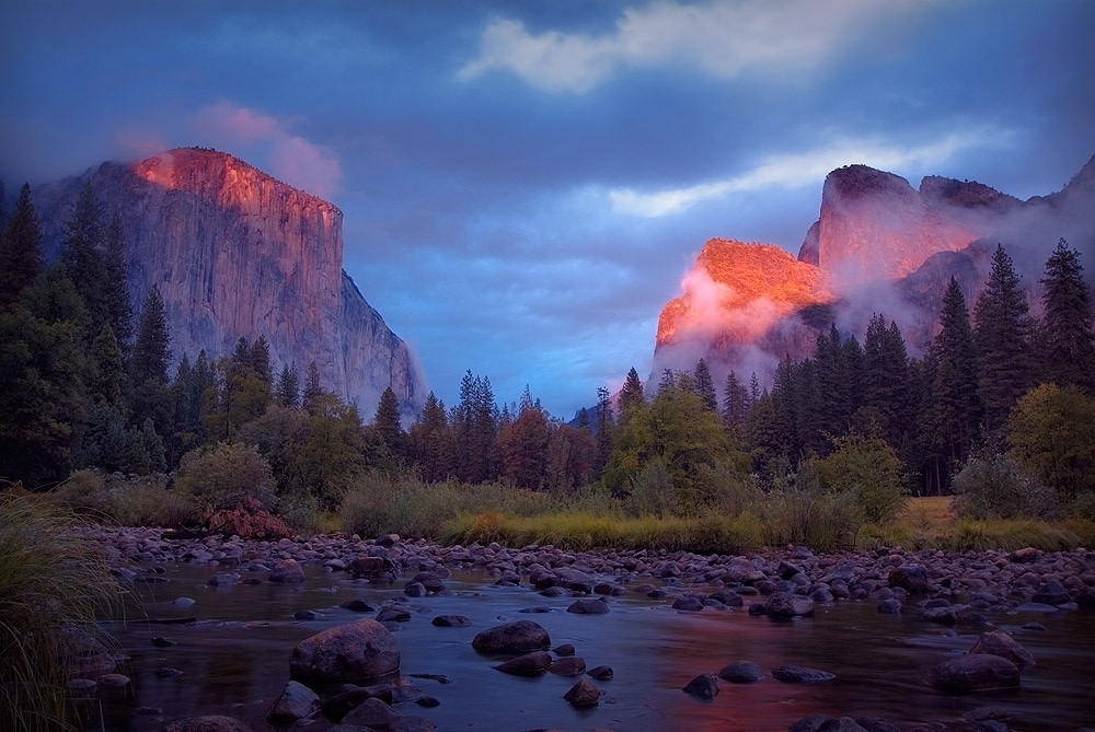 Yosemite Thundershower by BobContrast