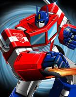 Optimus Prime by SeanyP40