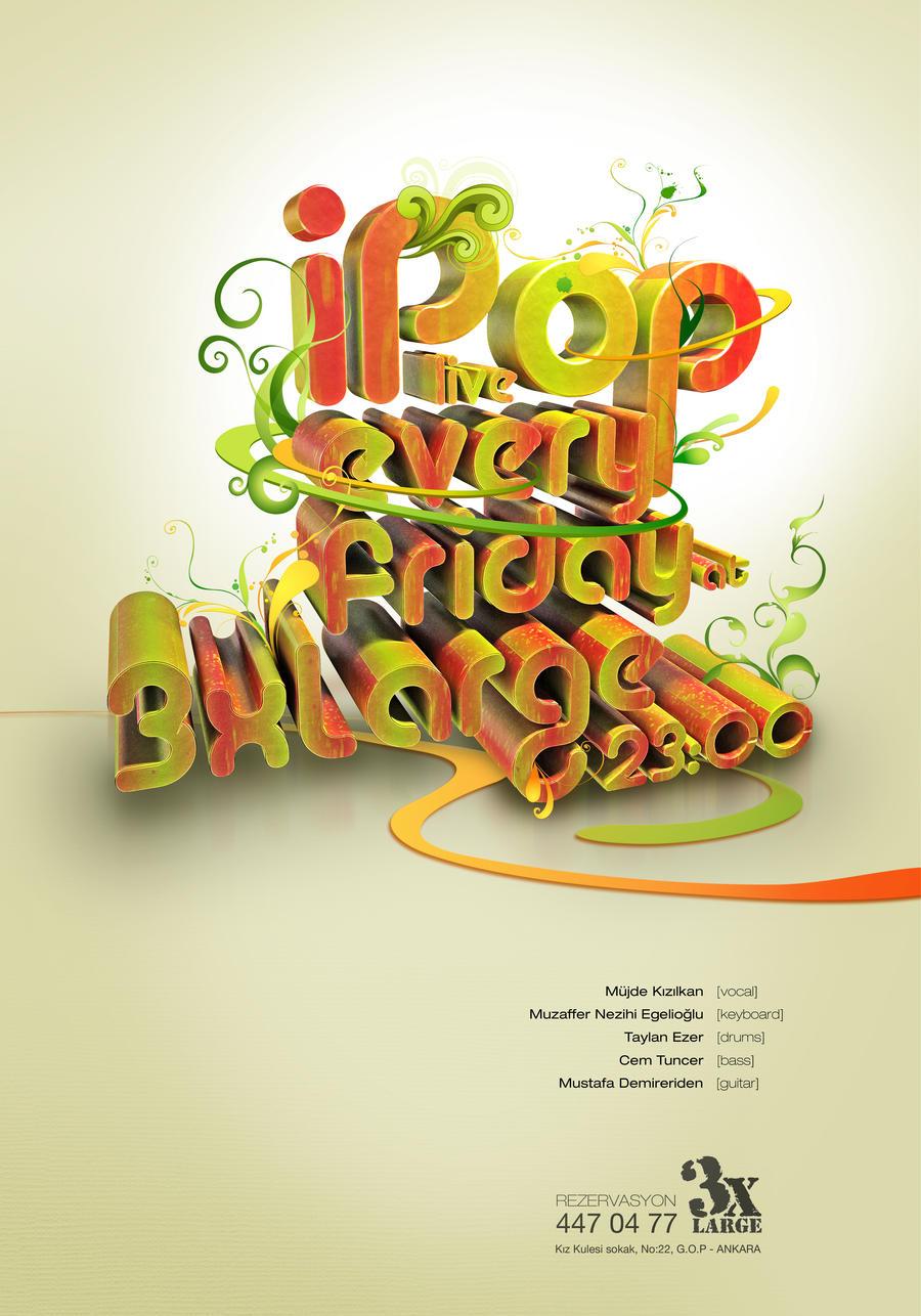 I Pop Poster V1 By Taylanezer