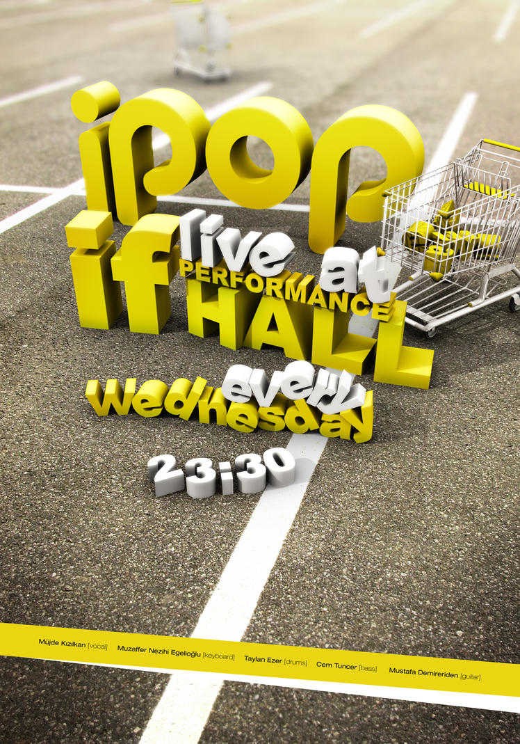 ipop v4 by taylanezer Provoke Your Graphic Design Inspiration In Typography And Text Art