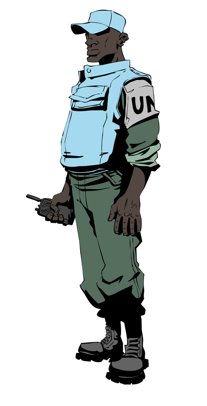 UN Peacekeeper - Rwanda 1994 by jdeberge on DeviantArt