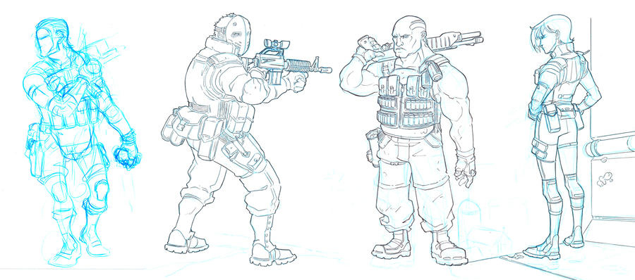 More Mercenaries by jdeberge