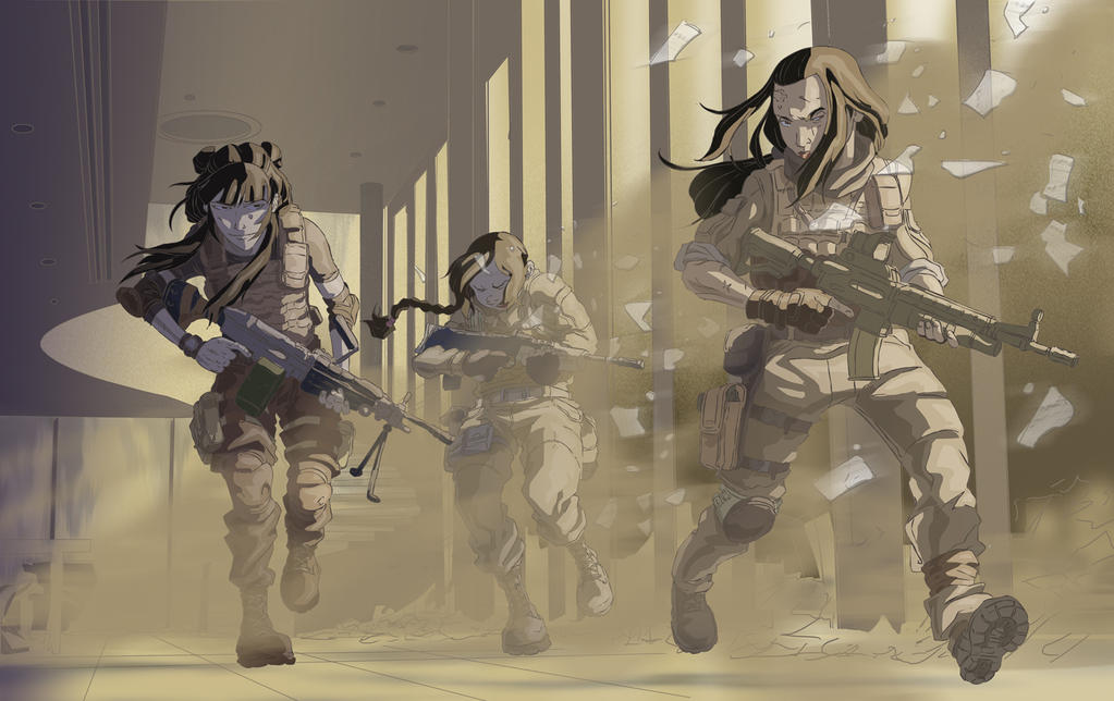 Ozai's Operatives by jdeberge