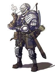 Dark Souls - Oscar, Knight of Astora by jdeberge