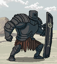 Dark Souls - 8 Bit Tarkus by jdeberge