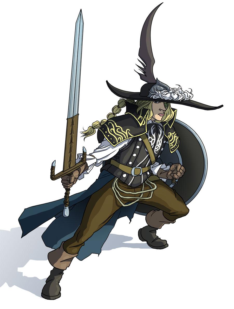 Dark Souls 2 Lucatiel of Mirrah by jdeberge