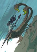 Dark Souls 2 - Scorpioness Najka by jdeberge