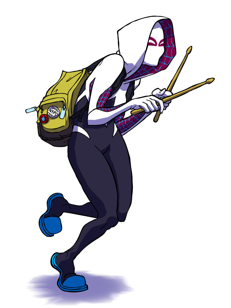 Spider-Gwen by jdeberge