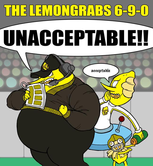 The 2014 Lemongrabs by jdeberge