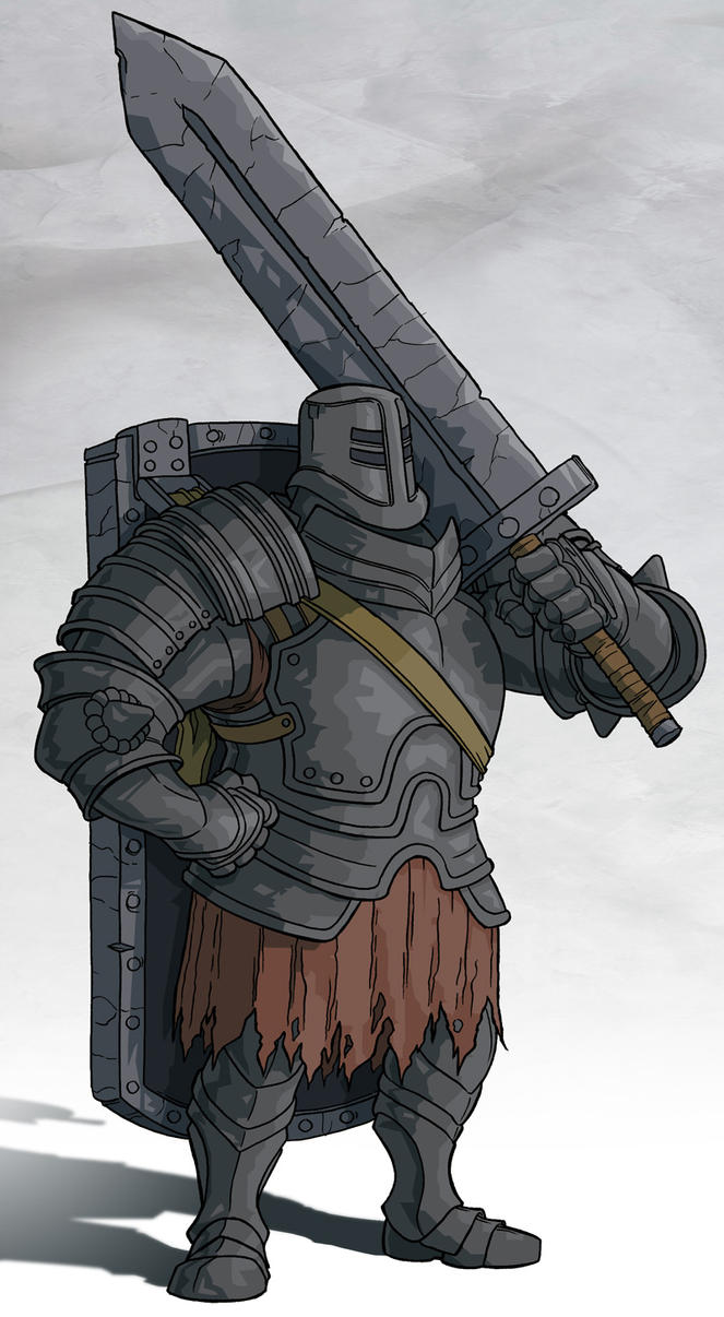 Going through the Junk Dark_souls___black_iron_tarkus_by_jdeberge-d9r543n