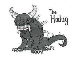 Inktober 13 The Hodag