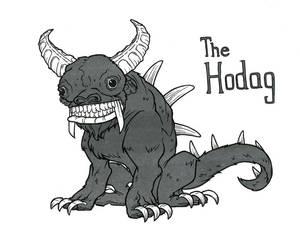 Inktober 13 The Hodag