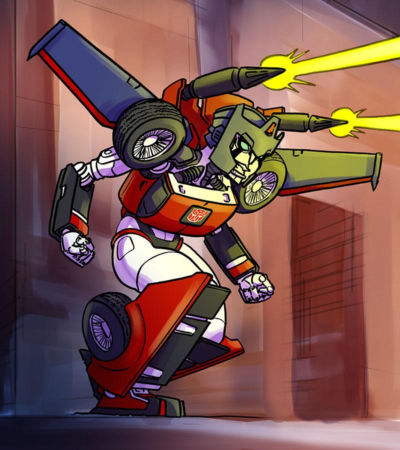 Transformers - Road Rage by jdeberge