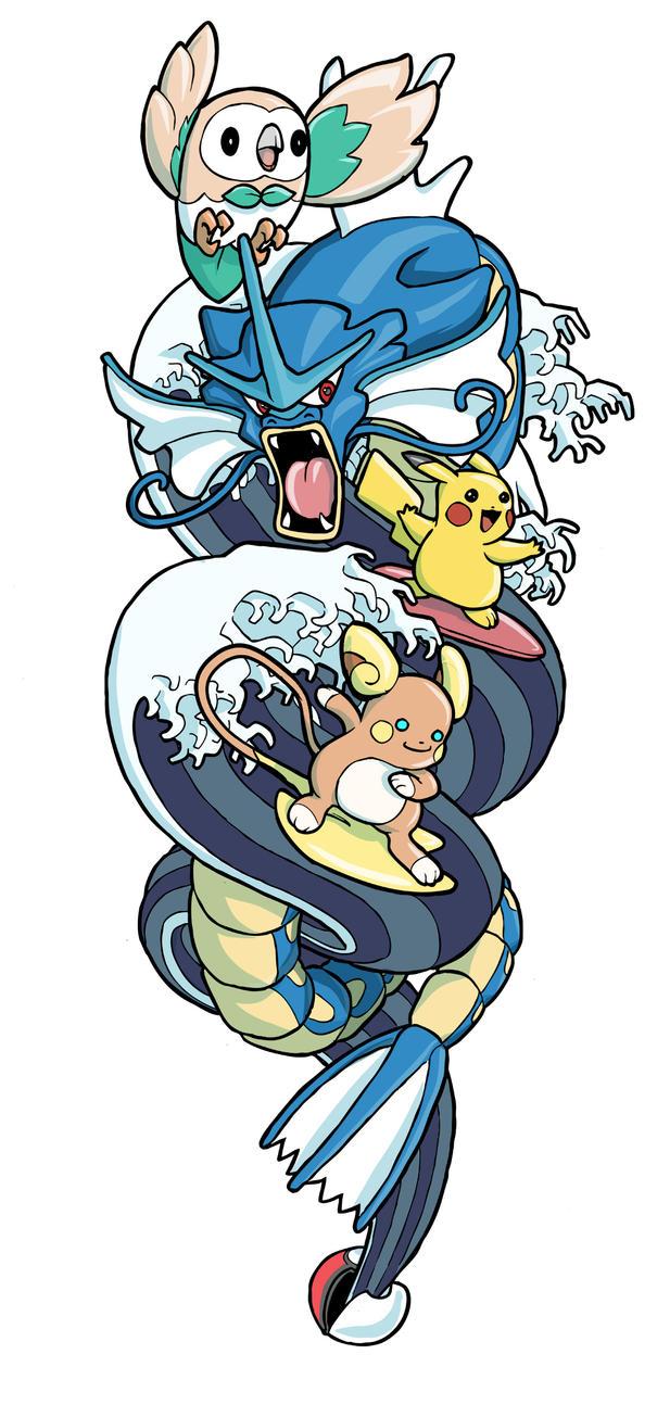 Pokemon Tattoo by jdeberge