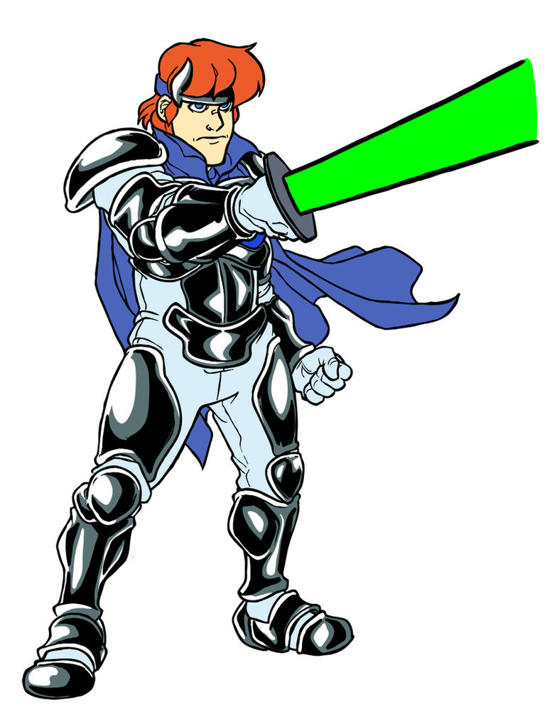 Shining Force 1 - Max by jdeberge