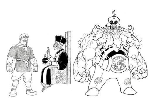Ragi Foesmasher - Character Concepts