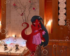 Wallpaper ~Grim Tales~ (Mimi)