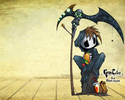 Wallpaper ~Grim Tales~ (Grim Jr.) by manekofansub