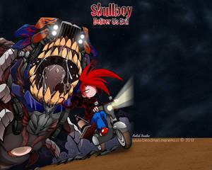 Wallpaper ~Skull Boy~