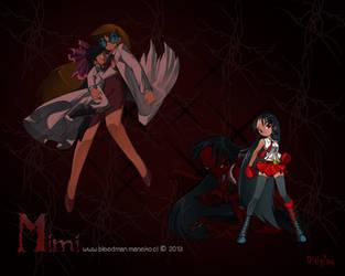 Ganador Concurso Wallpaper ~Grim Tales~ (Mimi) by manekofansub