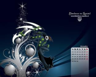 Calendario 2014  Bleedman (Diciembre) by manekofansub
