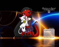 Calendario 2014 Bleedman (Noviembre) by manekofansub
