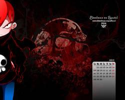 Calendario 2014 Bleedman (Abril) by manekofansub