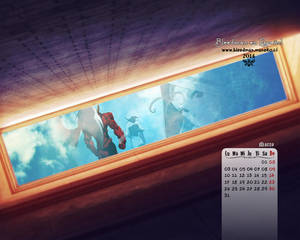 Calendario 2014 Bleedman (Marzo)